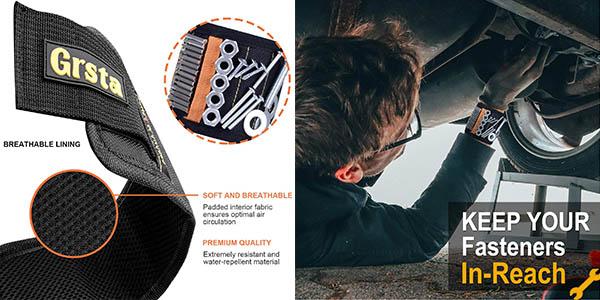 pulsera magnética para herramientas de bricolaje Grsta chollo