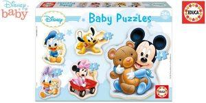 Set x5 Puzles progresivos Educa Baby Mickey Mouse barato en Amazon