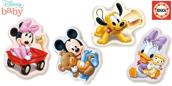 Set x5 Puzles progresivos Educa Baby Mickey Mouse oferta en Amazon