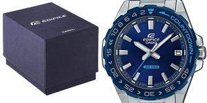Reloj analógico Casio Edifice EFV-120DB-2AVUEF para hombre barato en Amazon