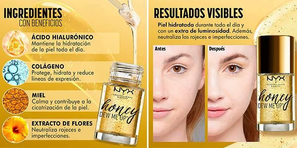 sérum con ácido hialurónico y miel NYX Professional Makeup Honew Deu Me Up oferta