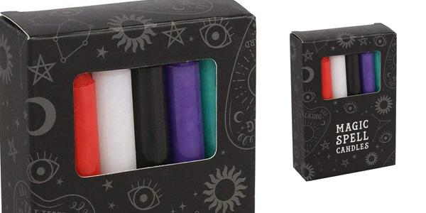 Set x12 Velas para Rituales mágicos de Miss Pretty London baratas en Amazon