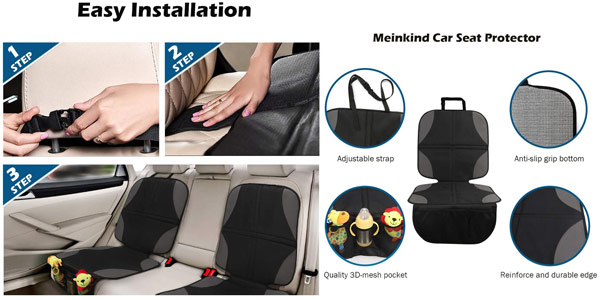 Set x2 Protectores de Asientos Coche Meinkind chollo en Amazon