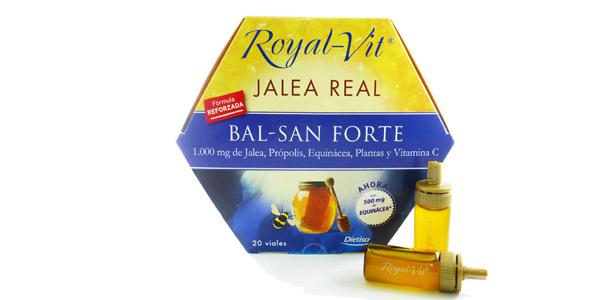 Set x20 Viales de Jalea Real Royal-Vit Bal-San Forte de Dietisa con fórmula reforzada barato en Amazon