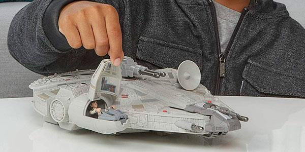 Set Halcón Milenario Star Wars Mission Fleet barato