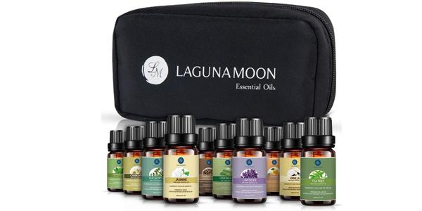 Set de Regalo x10 Aceites Esenciales LagunaMoon barato en Amazon