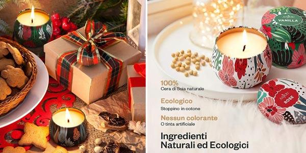 Set de regalo de 4 Velas perfumadas Anjou oferta en Amazon