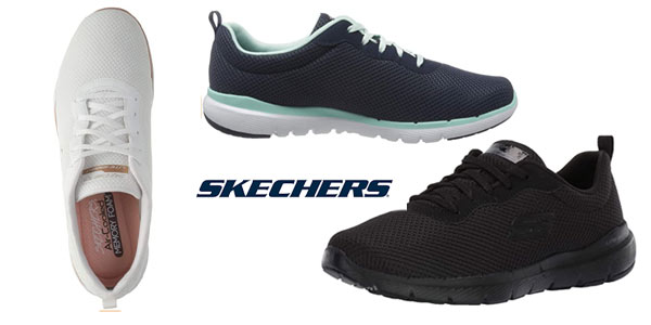 Skechers Flex Appeal 3.0 en oferta en Amazon