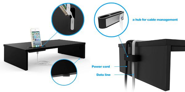 Soporte elevador de monitor Bontec oferta en Amazon