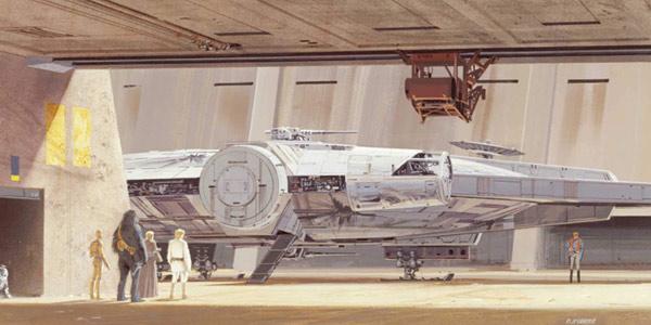 Mini libro ilustrado Star Wars: The Concept Art of Ralph McQuarrie en tapa dura oferta en Amazon