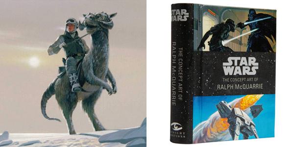Mini libro ilustrado Star Wars: The Concept Art of Ralph McQuarrie en tapa dura barato en Amazon