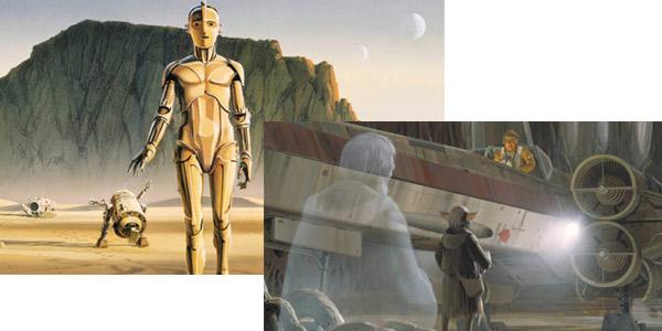 Mini libro ilustrado Star Wars: The Concept Art of Ralph McQuarrie en tapa dura chollo en Amazon