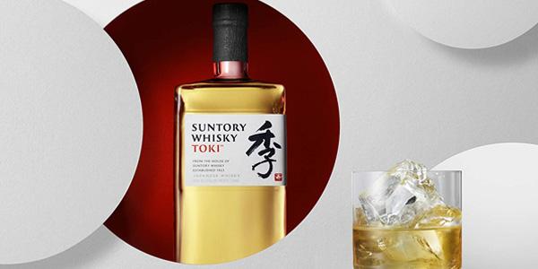 Toki Suntory Whisky Japonés de 700 ml chollo en Amazon