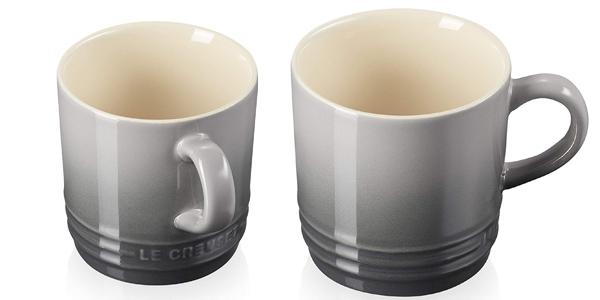 Taza de cerámica de gres Le Creuset de 200 ml barata en Amazon