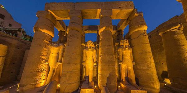 Templo Luxor Egipto visita virtual gratis