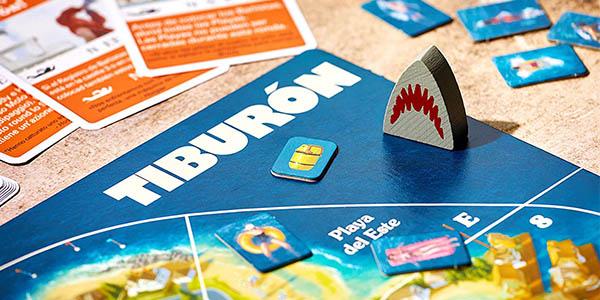 Tiburón Ravensburger juego de mesa con cartas barato
