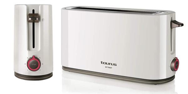 Tostadora Taurus My Toast de ranura extra larga y ancha de 1.000W chollo en Amazon