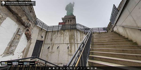 tour virtual Estatua Libertad gratuito
