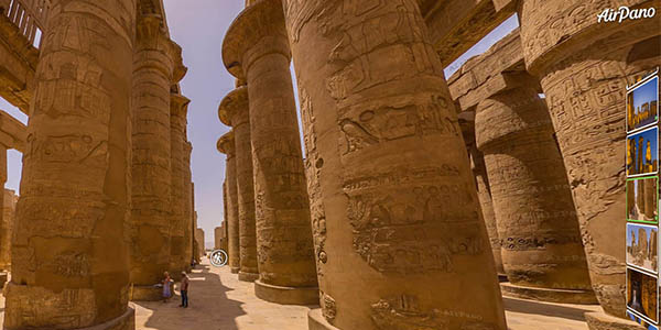 tour virtual gratuito templo Luxor Egipto