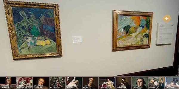 tour virtual Museo Bellas Artes Bilbao