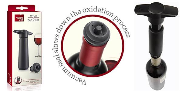 Vacu Vin 09814606 bomba de vacío botellas de vino chollo