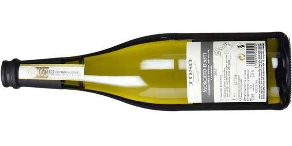 Vino blanco espumosos Toso Moscato d´Asti de 750 ml chollo en Amazon