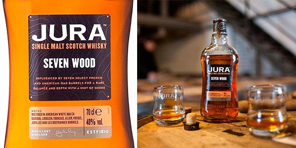 Whisky Jura Seven Wood de 700 ml barato