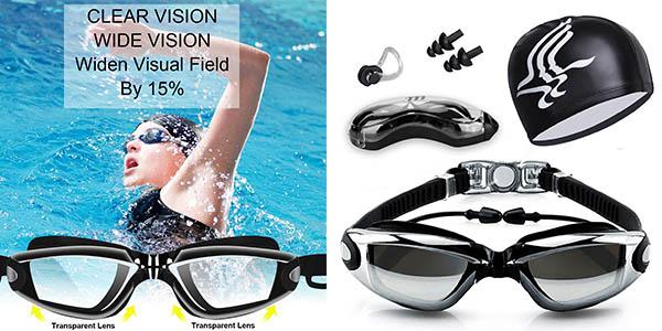 Yigou gafas de natación baratas