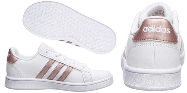 Zapatillas infantiles Adidas Grand Court K baratas