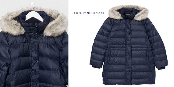 Abrigo Tommy Hilfiger TH Ess Tyra Down Coat with Fur barato