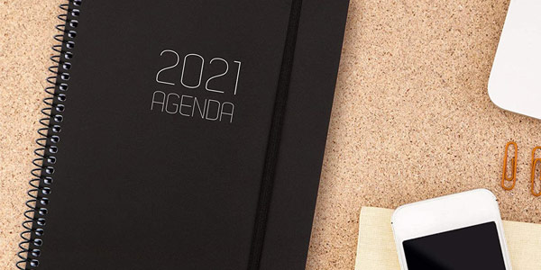 Agenda 2021 Finocam A5 chollo en Amazon