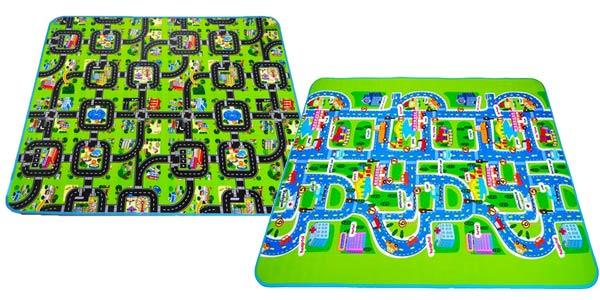 Manta de juegos para bebés Traffic aislante y antideslizante barata en AliExpress