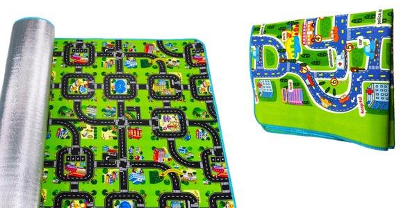 Manta de juegos para bebés Traffic aislante y antideslizante oferta en AliExpress