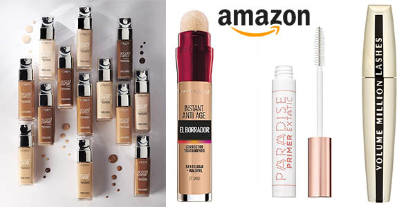 Amazon promoción maquillaje