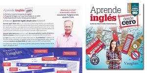 Aprende inglés desde cero curso principiantes Vaughan libro oferta
