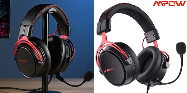 Auriculares Gaming Mpow Air SE con Sistema de cancelación de ruido baratos en Amazon