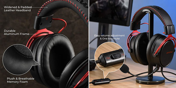 Auriculares Gaming Mpow Air SE con Sistema de cancelación de ruido chollo en Amazon