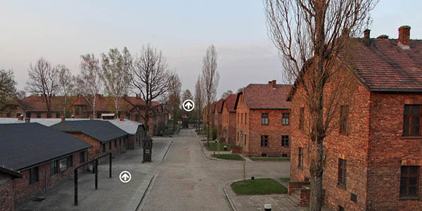 Auschwitz Bikenau recorrido online campo concentración nazi