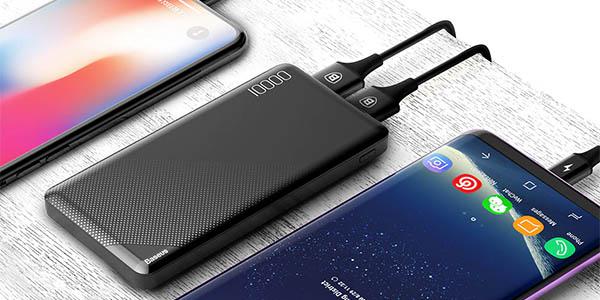 Batería portátil Baseus de 10.000mAh barata