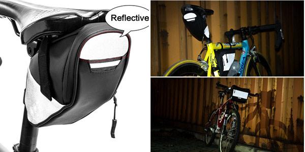 Bolsa impermeable para bicicleta chollo en AliExpress