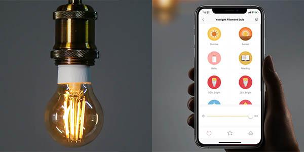 Bombilla LED de filamentos Xiaomi Yeelight en AliExpress