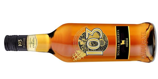 Brandy Solera Reserva Osborne 103 Etiqueta Negra de 700 ml chollo en Amazon
