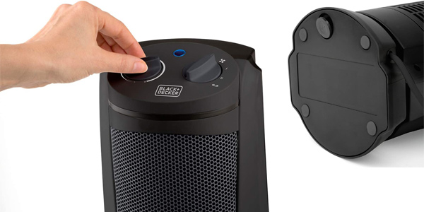 Calefactor Cerámico Black+Decker BXSH2002E de 2.000W oferta en Amazon