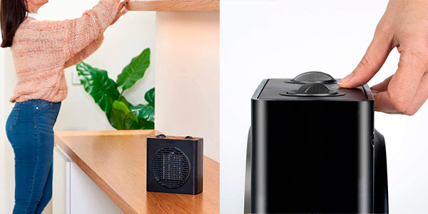 Calefactor cerámico Black+Decker BXSH1500E de 1.500 W barato