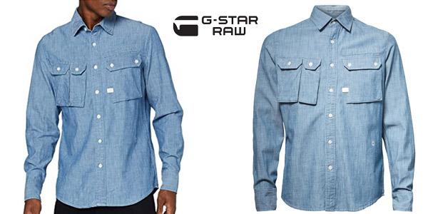 Camisa G-STAR RAW Ospak Slim para hombre chollazo en Amazon