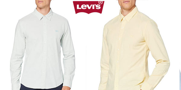 Camisa Levi's Ls Battery Hm Shirt Slim barata en Amazon