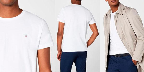 Camiseta Gant Solid para hombre barata