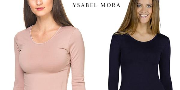Camiseta térmica YSABEL MORA para mujer barata en Amazon