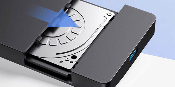 "Carcasa Inateck USB 3.0 para discos de 2,5"" barata"