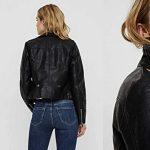 Chaqueta de cuero sintético Vero Moda Vmkerriultra Short Coated Jacket para mujer barata en Amazon